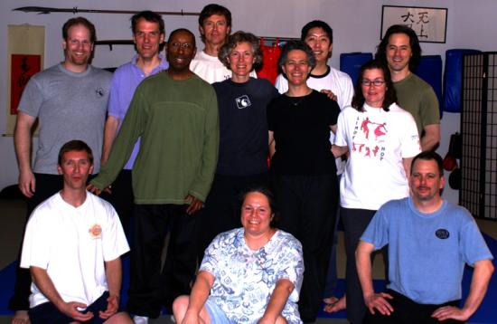 Jan Parker with the City of Lakes Tai Chi Group